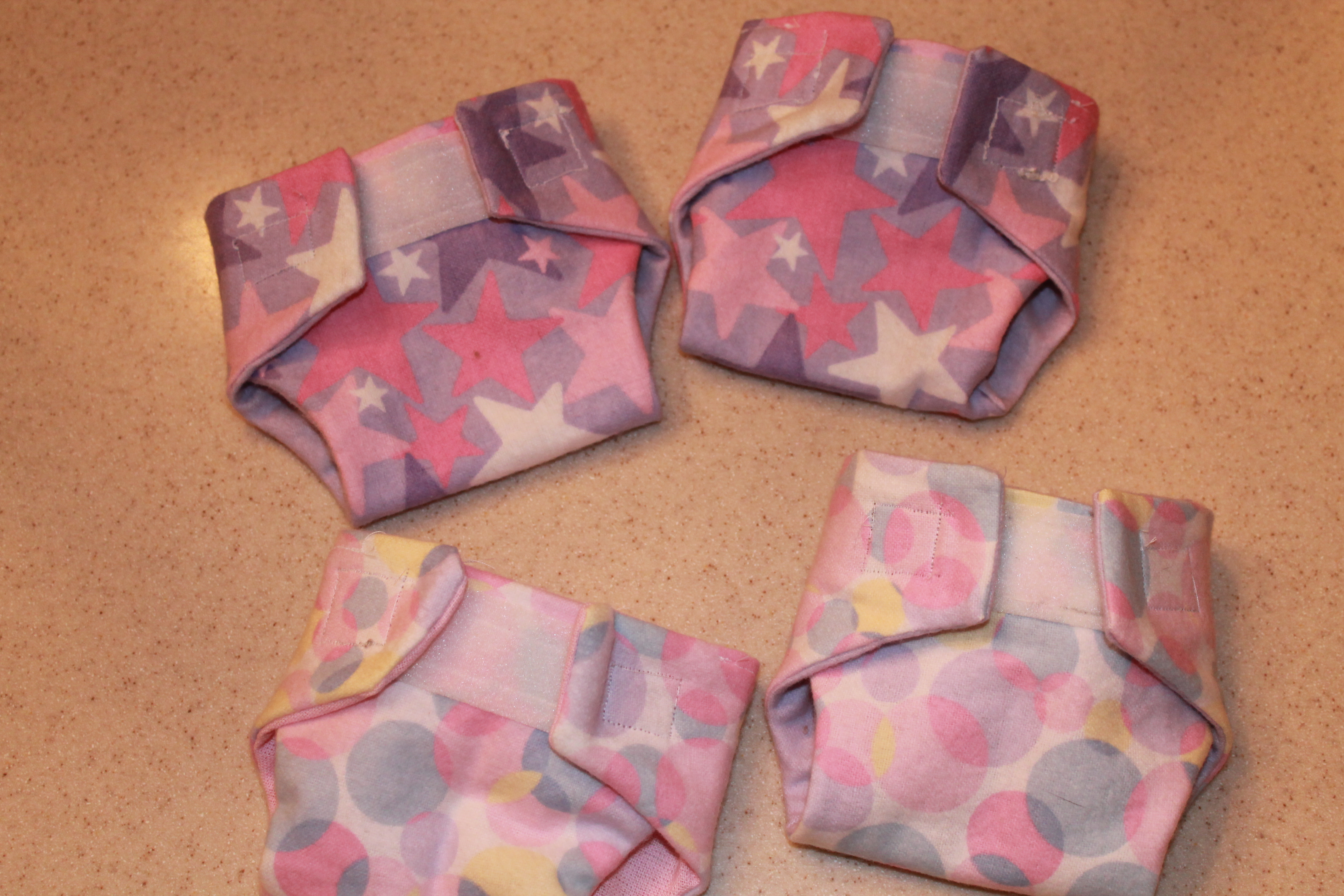 Tutorial: Cloth Doll Diapers